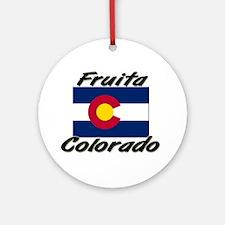 Fruita Colorado Ornament (Round)