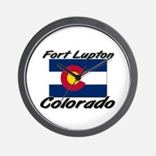 Fort Lupton Colorado Wall Clock