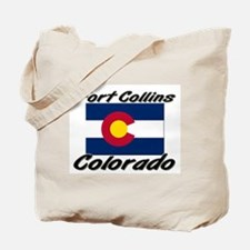 Fort Collins Colorado Tote Bag