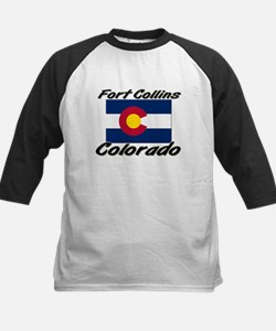 Fort Collins Colorado Kids Baseball Jersey