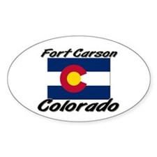 Fort Carson Colorado Oval Decal
