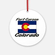 Fort Carson Colorado Ornament (Round)