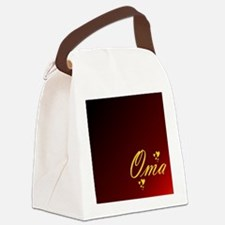 Cool Oma Canvas Lunch Bag