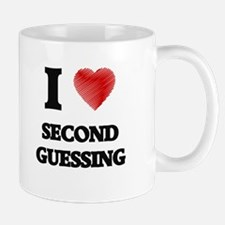 I Love Second Guessing Mugs