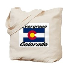 Evergreen Colorado Tote Bag