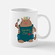 Garden Cat Mugs