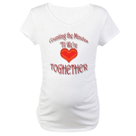 COUNTING THE MINUTES SLEEPWEAR - Maternity T-Shirt