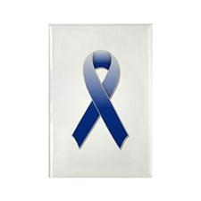 Arthritis Blue Ribbon Rectangle Magnet