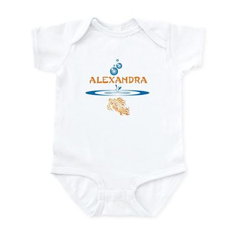 Alexandra (fish) Infant Bodysuit