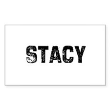 Stacy Rectangle Decal