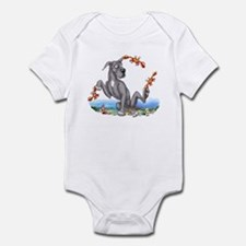 Great Dane Black Crabby Infant Bodysuit