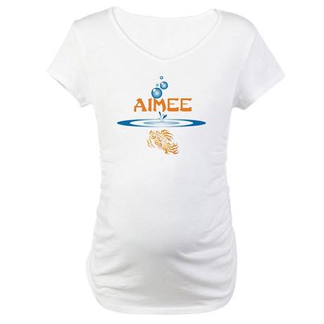 Aimee (fish) Maternity T-Shirt
