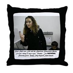 Thanks for nothing, feminists! Throw Pillow