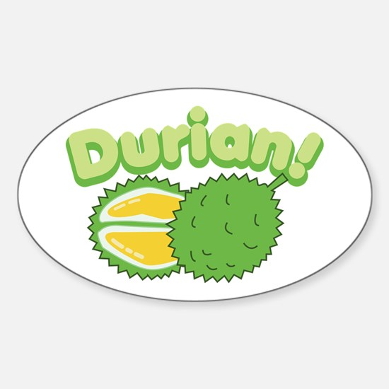 Durian Decal