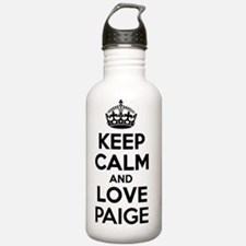 Keep Calm and Love PAI Water Bottle