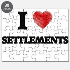 I Love Settlements Puzzle