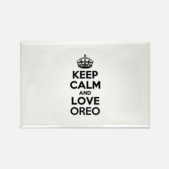 Keep Calm and Love OREO Magnets