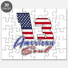 13 American Soul Birthday Designs Puzzle