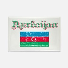 Azerbaijani flag Rectangle Magnet