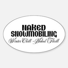 Winter Chill - Naked Thrill Oval Decal