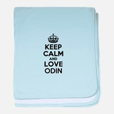 Keep Calm and Love ODIN baby blanket