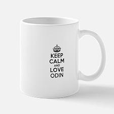 Keep Calm and Love ODIN Mugs