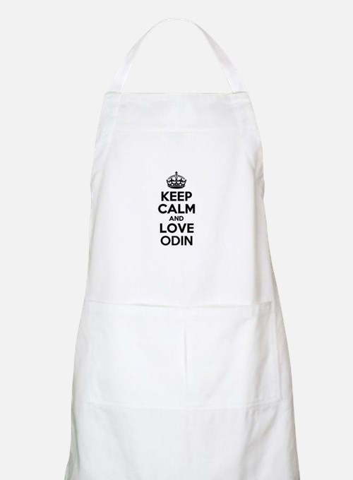 Keep Calm and Love ODIN Apron
