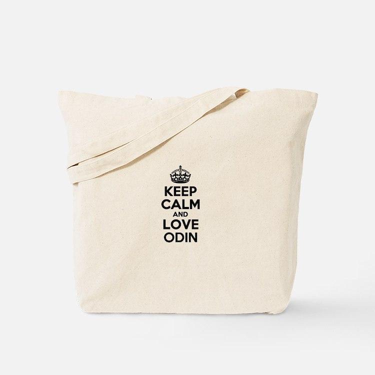 Keep Calm and Love ODIN Tote Bag