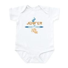 Jenifer (fish) Infant Bodysuit