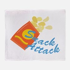 Snack Attack Throw Blanket