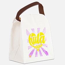 Unique Hoola Canvas Lunch Bag