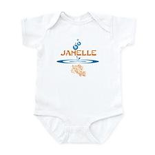 Janelle (fish) Onesie