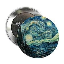 "Van Gogh Starry Night 2.25"" Button (10 pack)"
