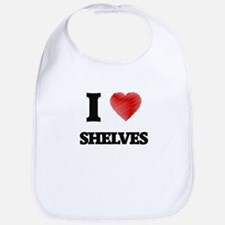 I Love Shelves Bib