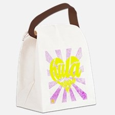 Hula Heart 2 Canvas Lunch Bag