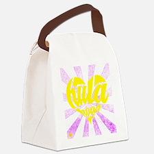 Hula Heart Canvas Lunch Bag
