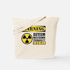 Autism Meltdown Probable Tote Bag