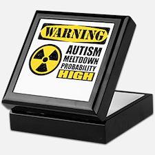 Autism Meltdown Probable Keepsake Box