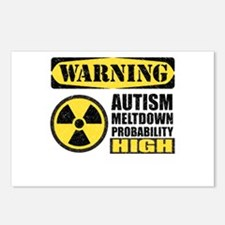 Autism Meltdown Probable Postcards (Package of 8)