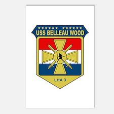 USS Belleau Wood (LHA 3) Postcards (Package of 8)