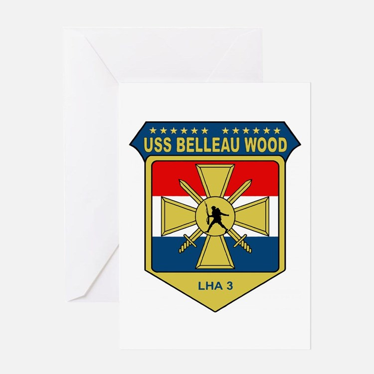 USS Belleau Wood (LHA 3) Greeting Card