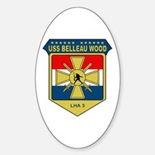 USS Belleau Wood (LHA 3) Oval Decal