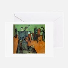 Munch Death in the Sickroom Greeting Card