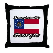 Douglasville Georgia Throw Pillow