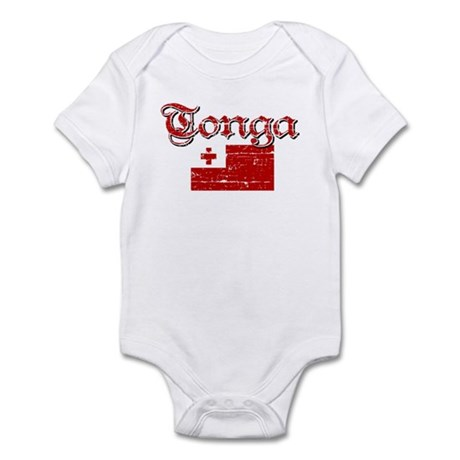 Tongan Flag Infant Bodysuit