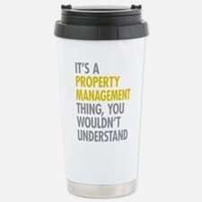 Property Management Stainless Steel Travel Mug