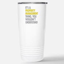 Property Management Travel Mug