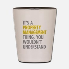 Property Management Shot Glass
