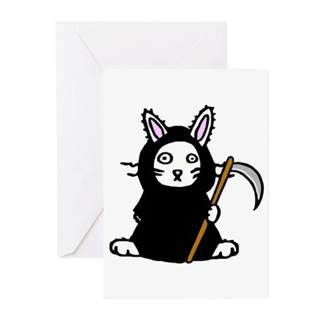 Death Bunny Greeting Cards (Pk of 10)