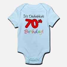 Dedushka 70th Birthday Body Suit